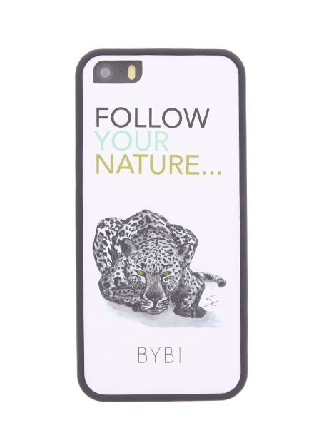 BYBI Lifestyle Fashion Brand Follow Your Nature iPhone 5S/5