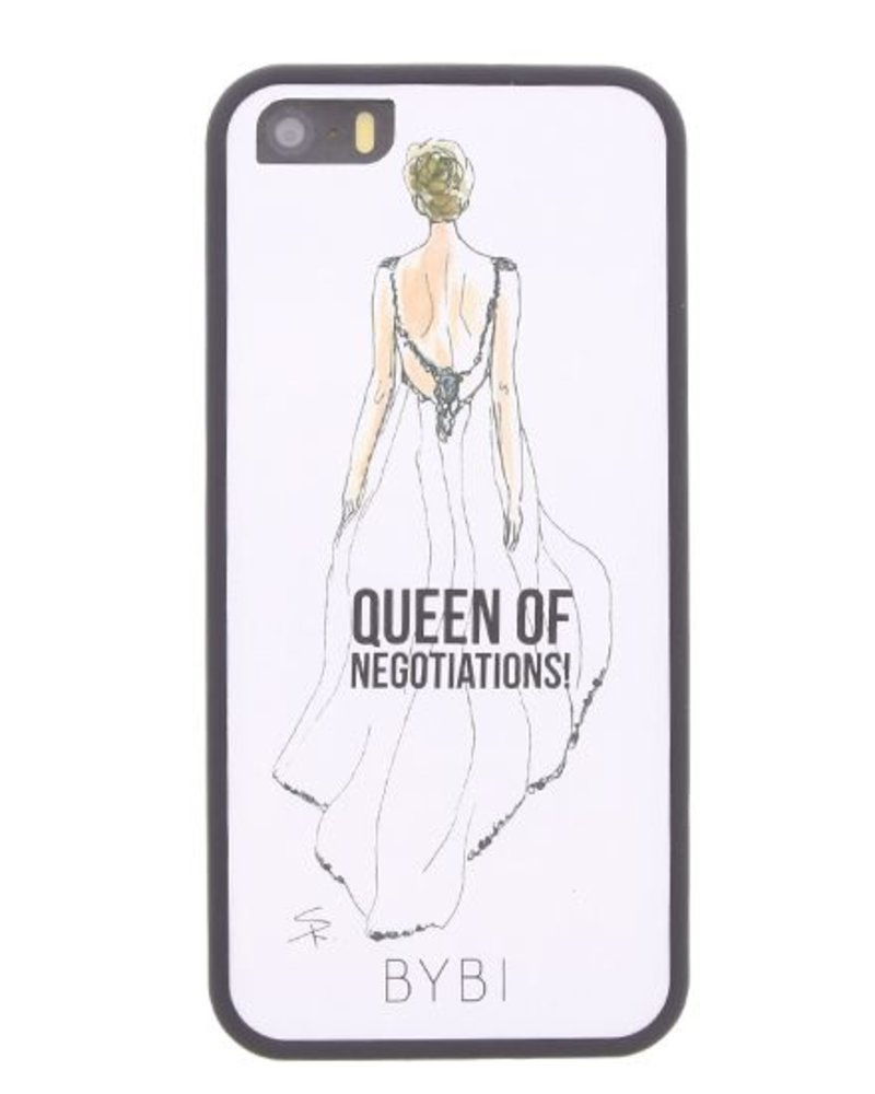 BYBI Lifestyle Fashion Brand Queen Of Negotiation iPhone SE
