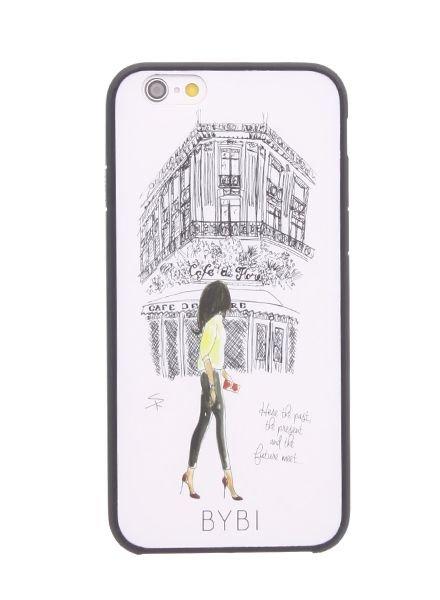 BYBI Lifestyle Fashion Brand Cafe De Flore iPhone 6S/6