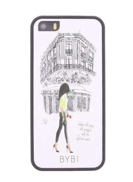 BYBI Lifestyle Fashion Brand Cafe De Flore iPhone SE