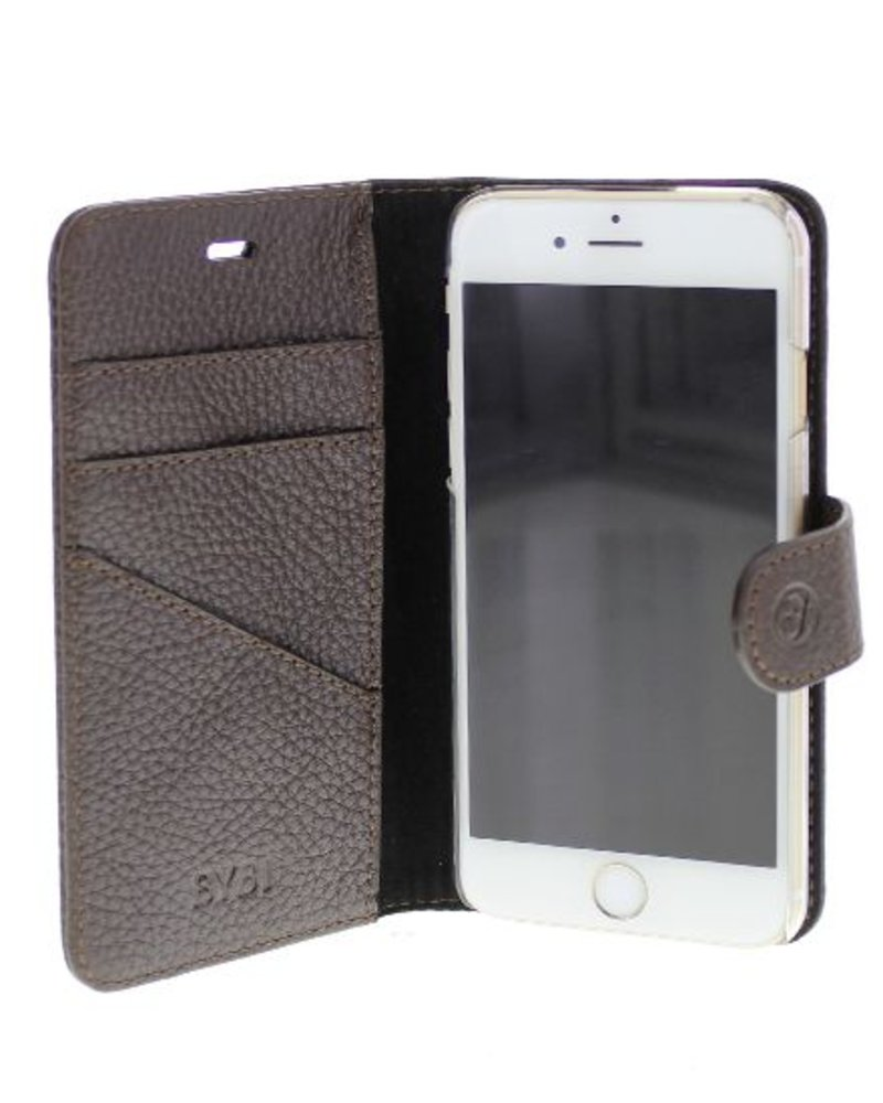 BYBI Lifestyle Fashion Brand Classic Donker Bruin iPhone 6S/6 Plus