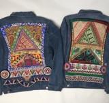 Jean jacket Monikmo multicolor Large