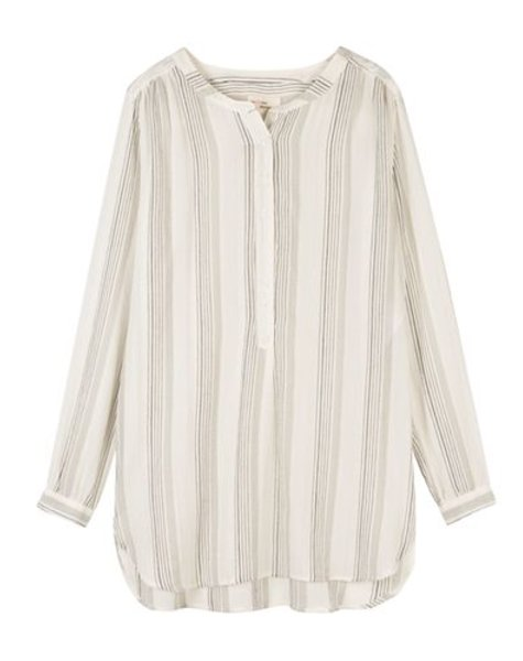 Shirt/blouse Jules striped grey/black