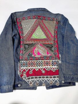 Jean jacket vintage Ananda multicolor Medium