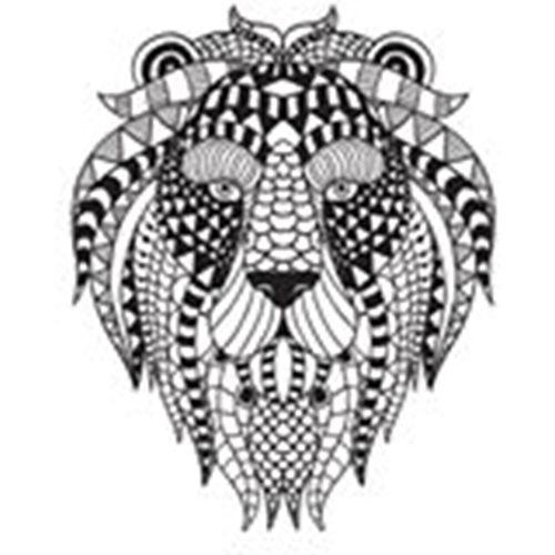 Jeansvest Monikmo borduurwerk  multicolor Large