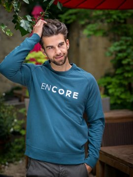 Miss Milla EN CORE sweat men blue/green
