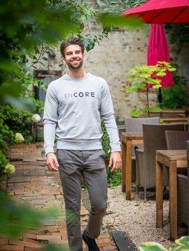 Miss Milla EN CORE sweat homme heather grey (gris clair)