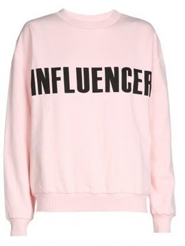 Sweater – INFLUENCER pink basic