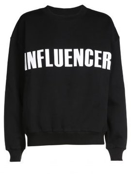 Sweater – INFLUENCER black basic