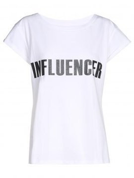 T-shirt– INFLUENCER white