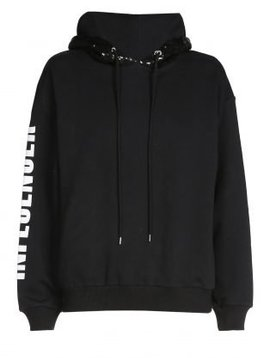 Hoodie  – INFLUENCER black sequin