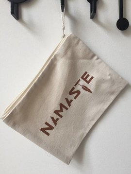 Miss Milla NAMASTE  pencilcase/make-up bag natural