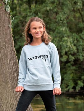 Miss Milla WARRIOR sweater kids heather iceblue