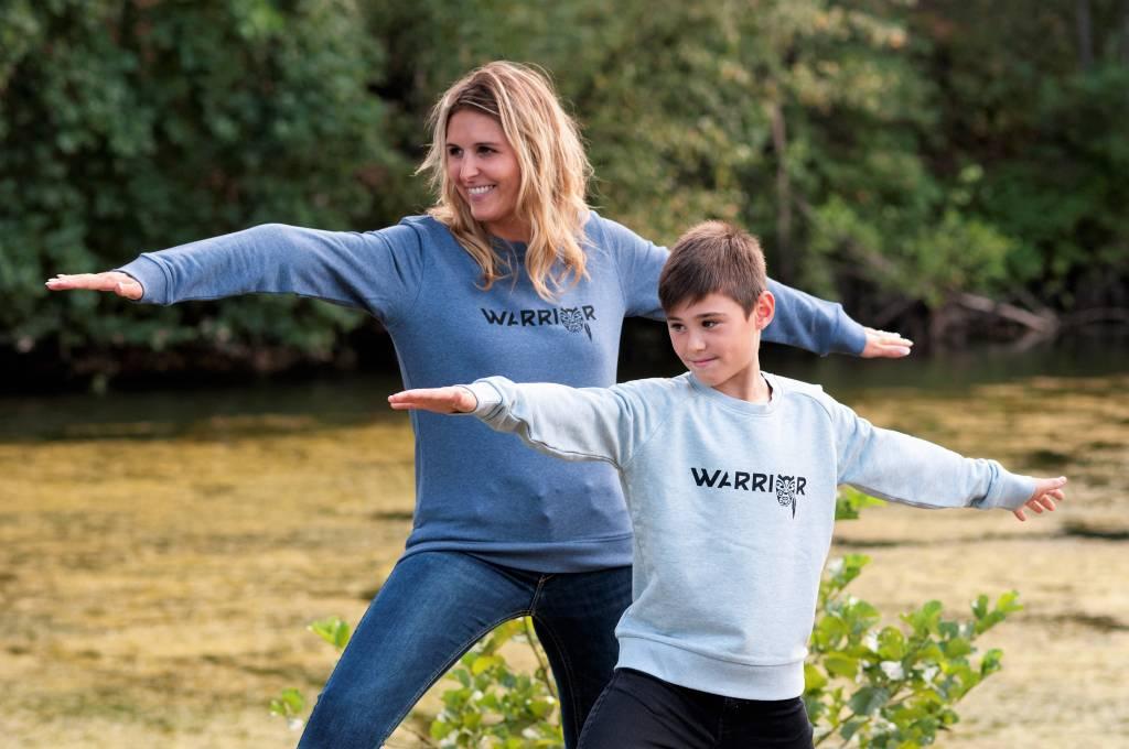 Miss Milla WARRIOR sweater kids heather iceblue
