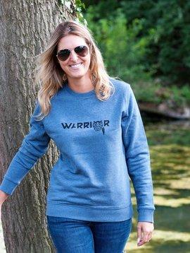 Miss Milla WARRIOR sweatshirt unisex dark heather blue (blue jeans)