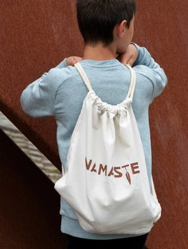 Miss Milla NAMASTE rugzakje/gymbag kids/adults naturel