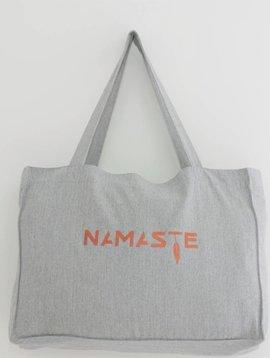Miss Milla NAMASTE shopping/yogabag heather grey
