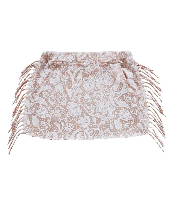 Set skirt soft pink lace