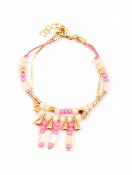 Bracelet Inca Pink Woman