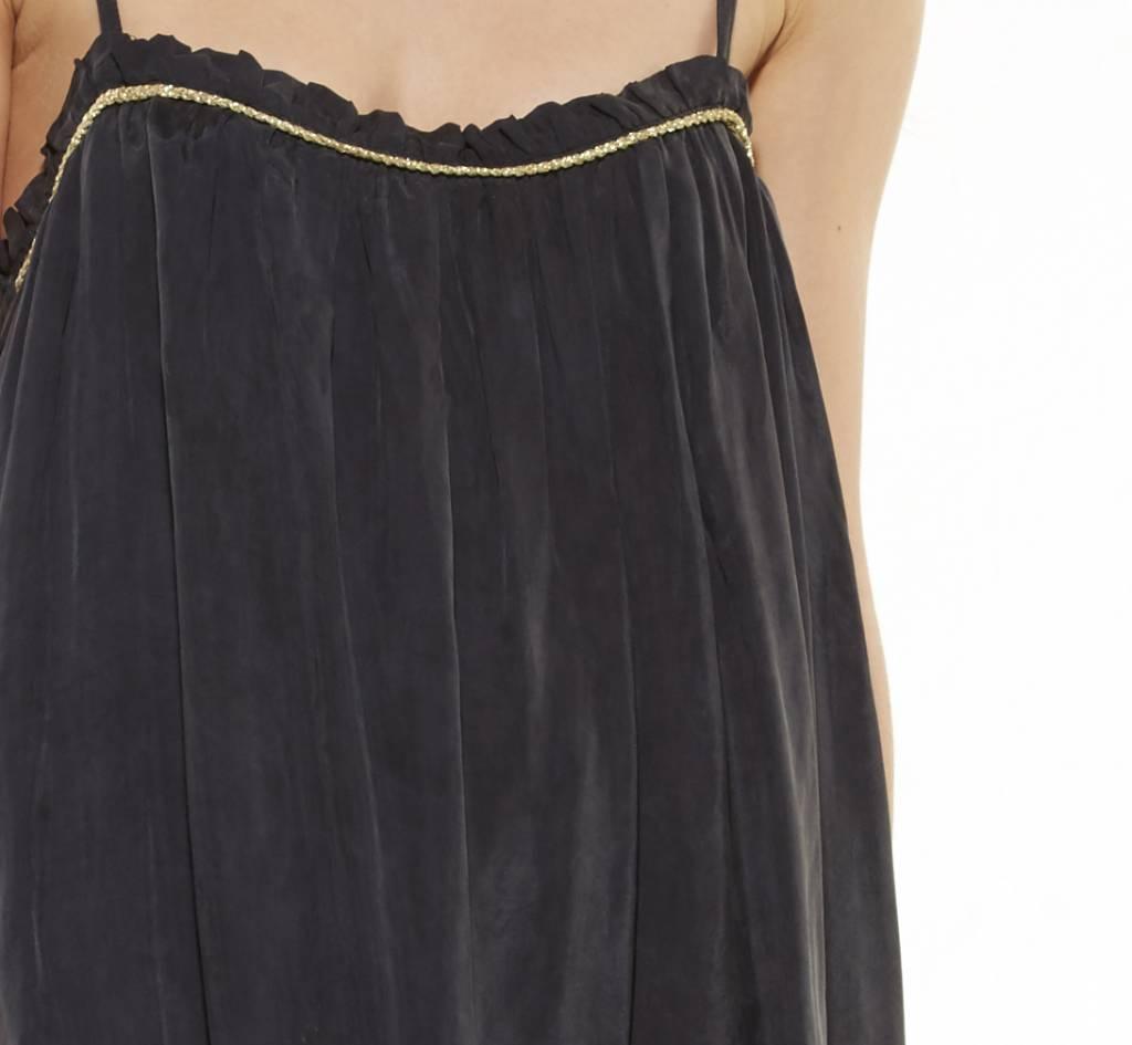 Citron zwarte jurk