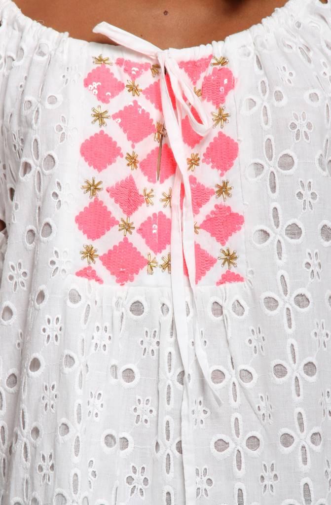 Romy Baby White/Pink