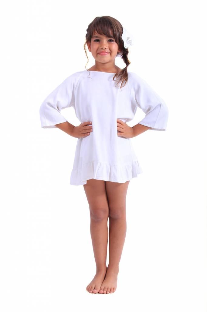 Alaia Baby White/Orange