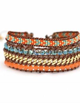 The Miyuki Split bracelet