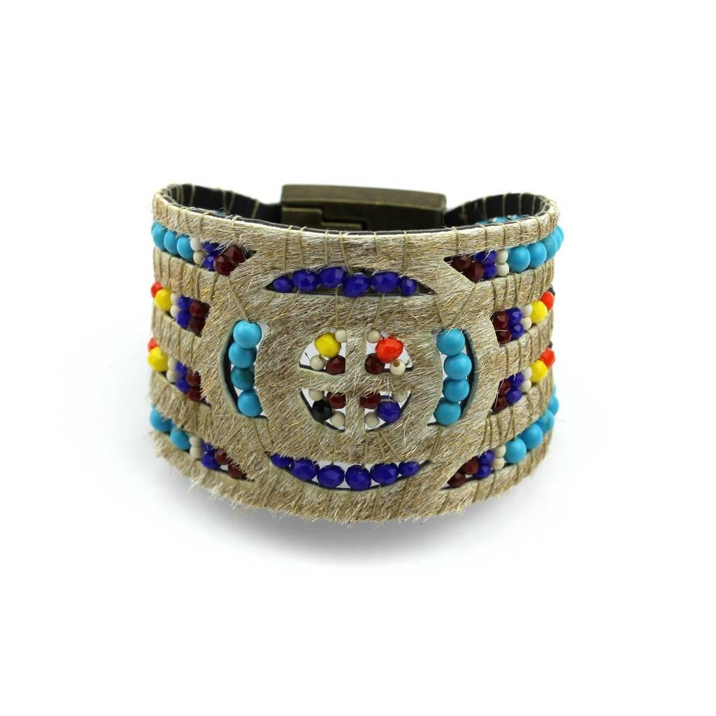 Armband The glitter gold bracelet