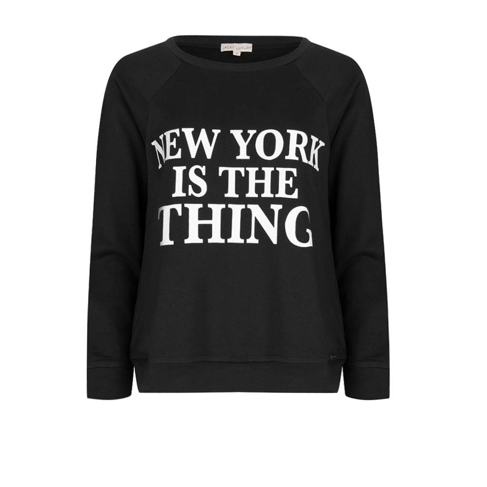 Sweater New York is the thing- kids