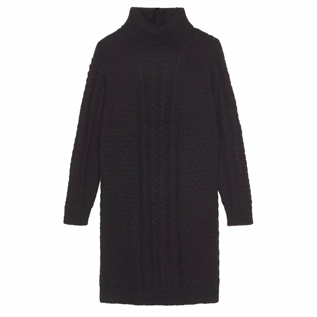 Pull/dress Rose black long