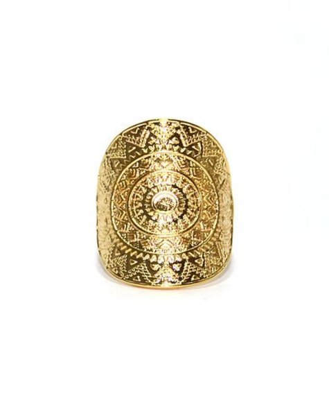 Ring gold colour