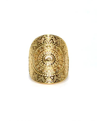 Ring Nilu gold color
