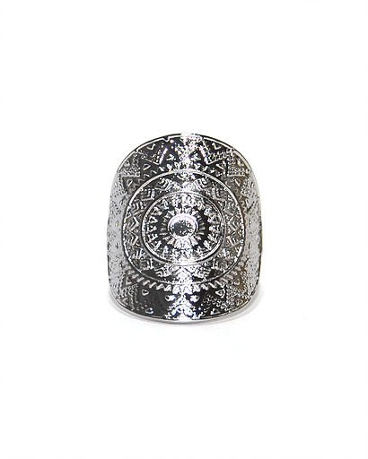Nilu silver ring