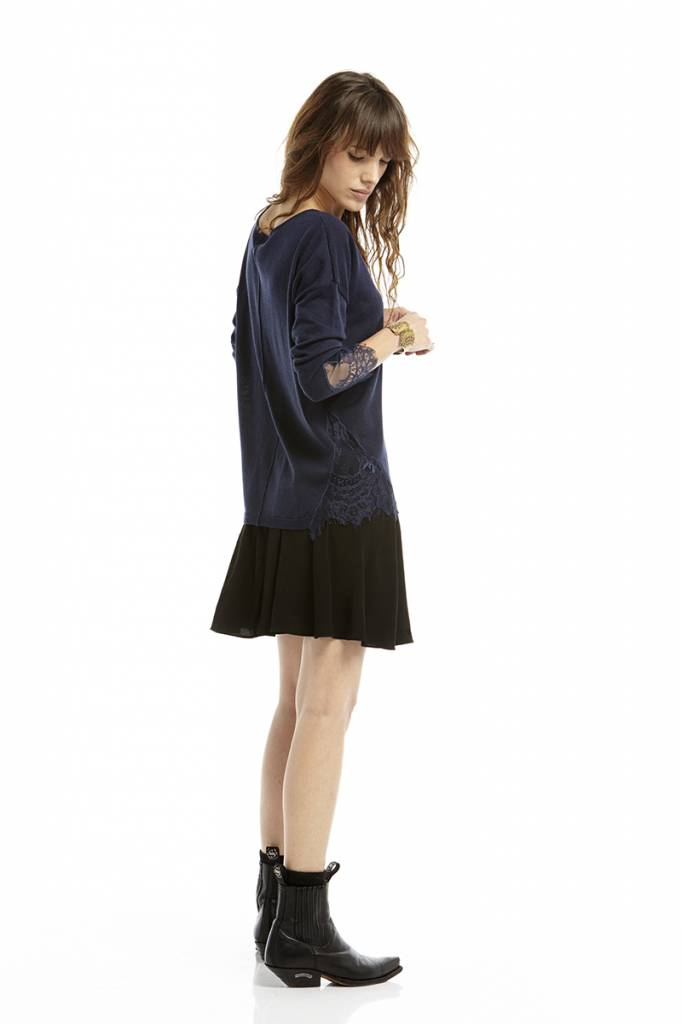 Pull Charlize navy blue