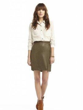 Charlise jupe kaki: 2 dernières pièces