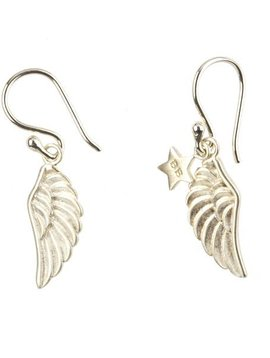 earring wings (wings) silver