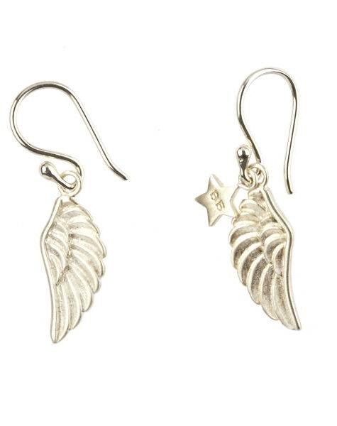 earring wings (wings) silver