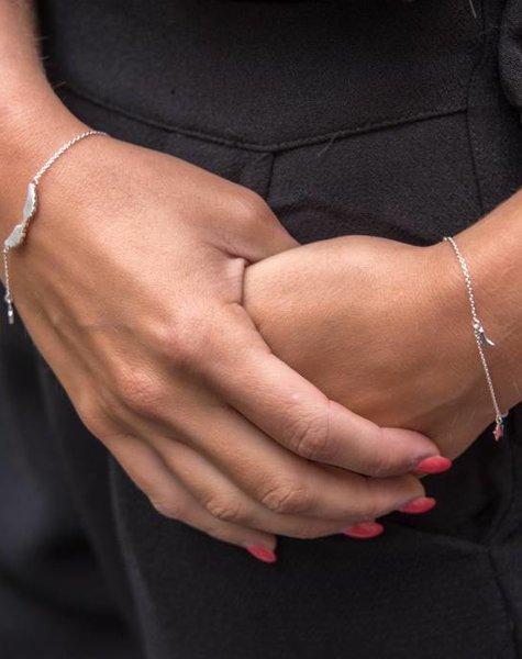 KID Twinkle chain armband zilver, kind/baby