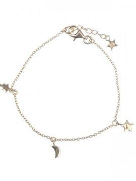 KID Twinkle chain armband verguld goud