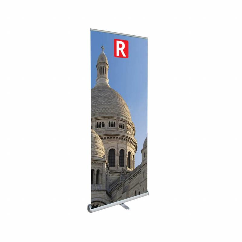 Ordina banner roll up comfort a basso costo.