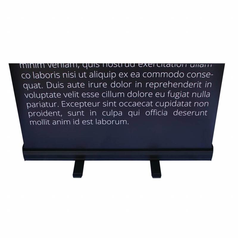 Banner roll up nero a basso costo