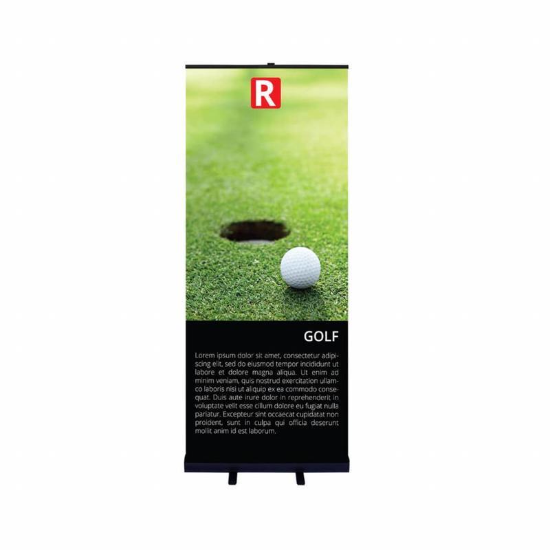 Roll up svart 85x200 cm