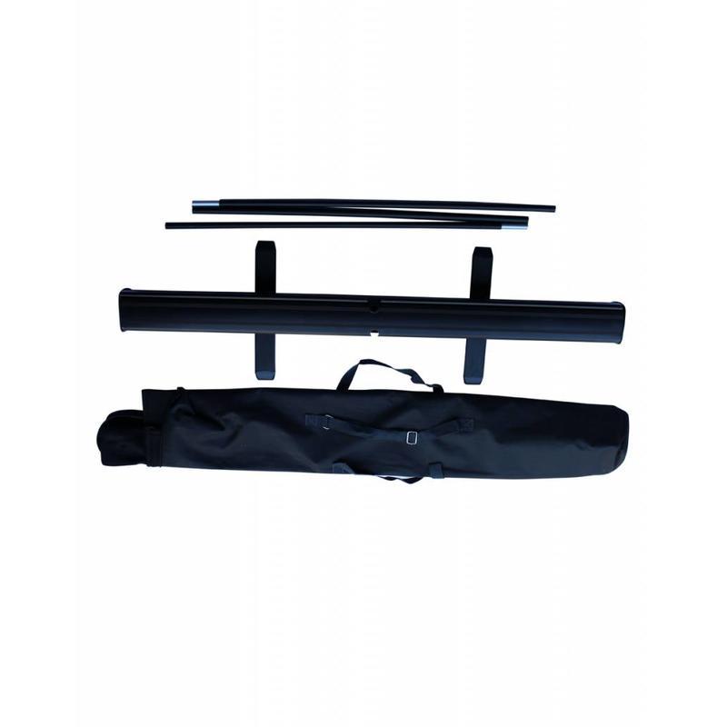 Roll up zwart 100x200 cm