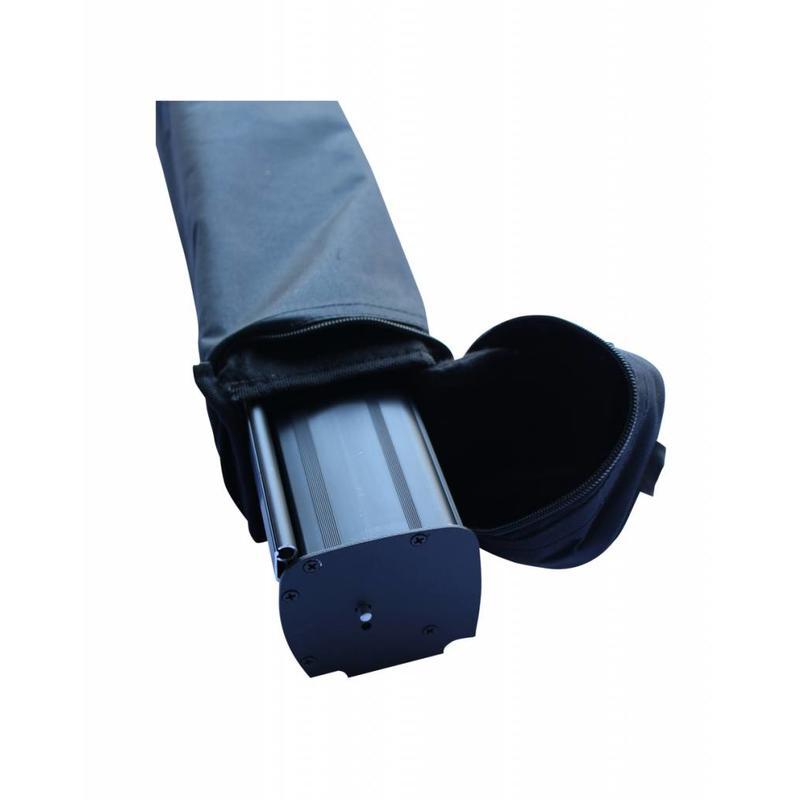 Roll up svart 100x200 cm