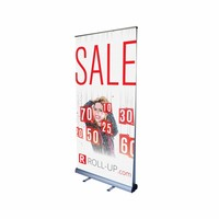 Roll up bifacciale 100x200