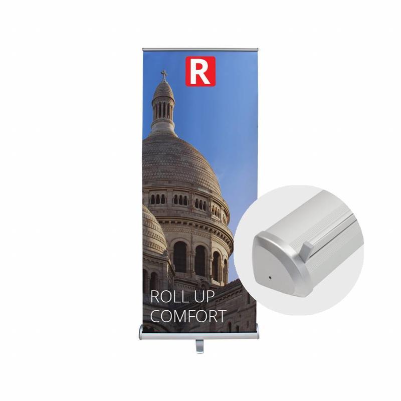 Bestill billig roll up comfort banner.