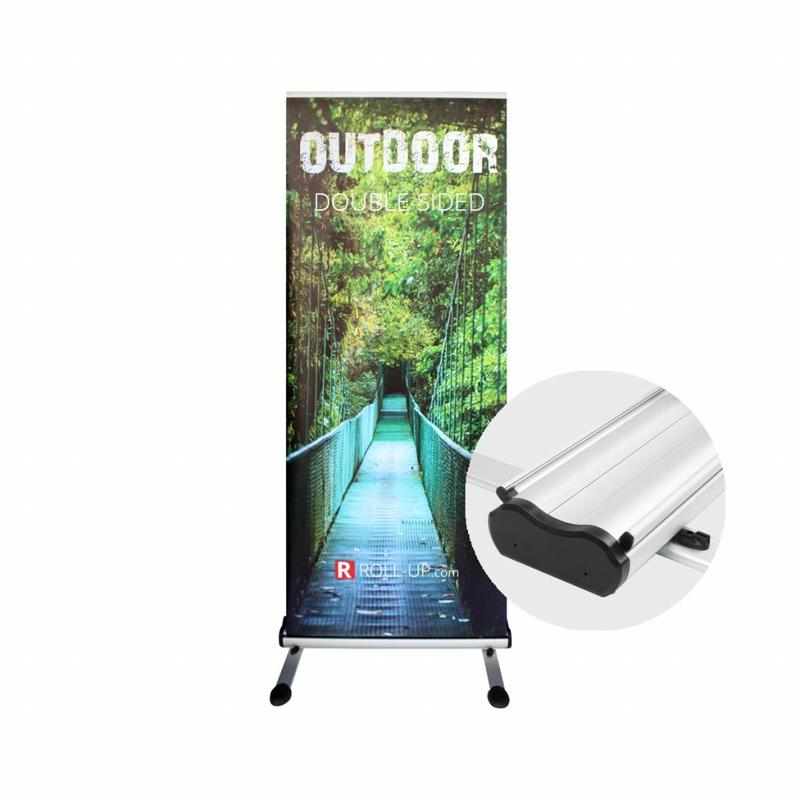 Roll up banner outdoor dubbelzijdig
