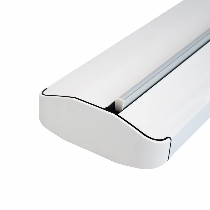 Roll up superior white cassette