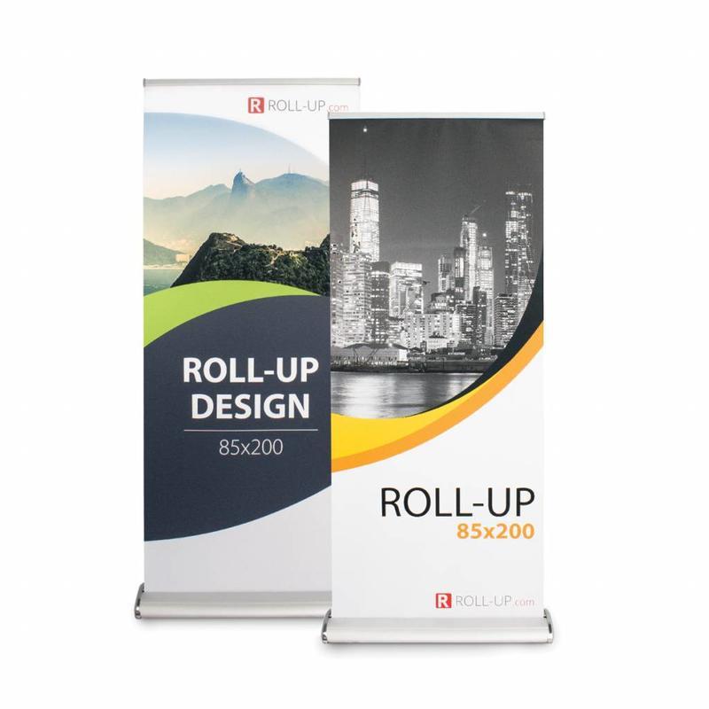 Roll up fronte-retro deluxe 85x200 cm