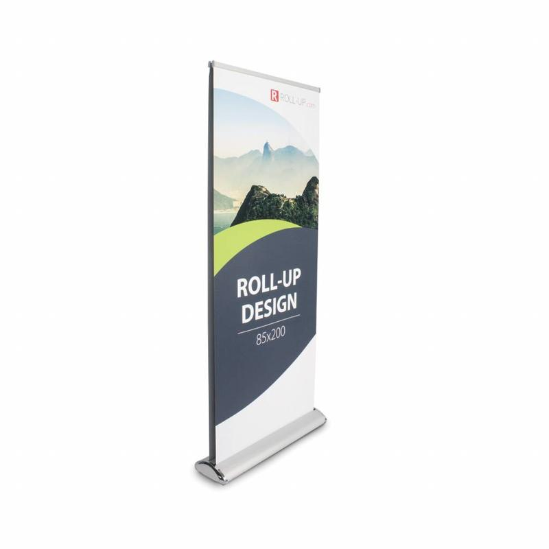 Roll up double sided deluxe 85x200 cm